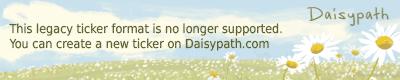 Daisypath Vacation Ticker